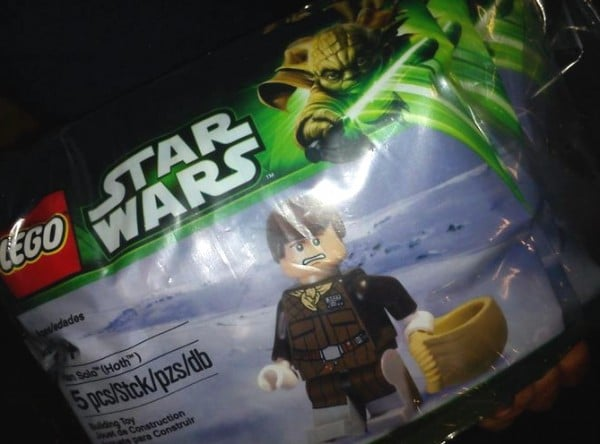 Han Solo exclusive minifig - May the fourth promotion