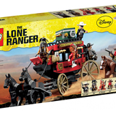 LEGO The Lone Ranger 79108 Stagecoach Escape