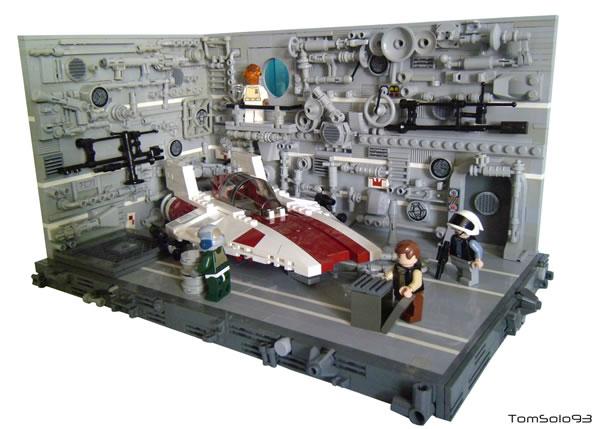 A-Wing Hangar par TomSolo93