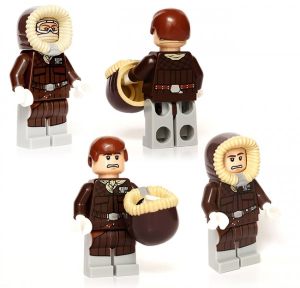 5001621 LEGO Star Wars Han Solo (Hoth) Exclusive Minifig