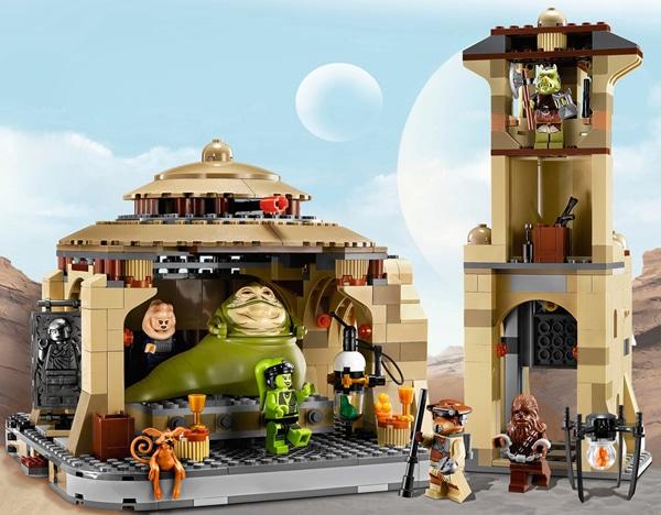 jabba the hutt palace lego instructions