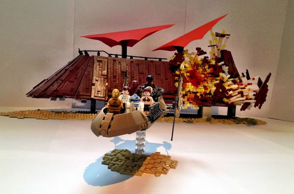 LEGO Star Wars Olympics Round 1 - The End of Jabba par markus1984