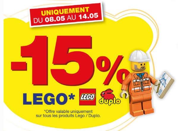 Maxitoys -15% sur la gamme LEGO / Duplo du 08/05/2013 au 14/05/2013