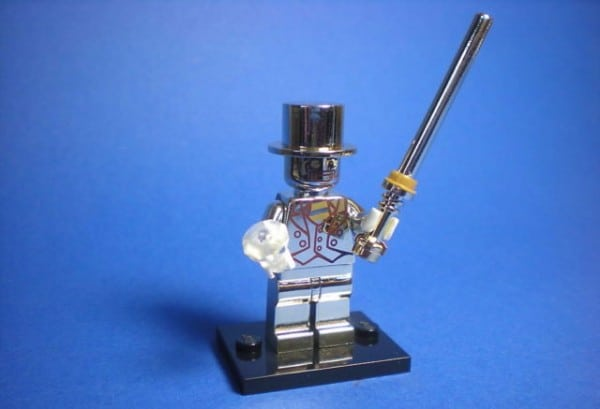 LEGO Collectible Minifigures Series 10 - Mr Gold