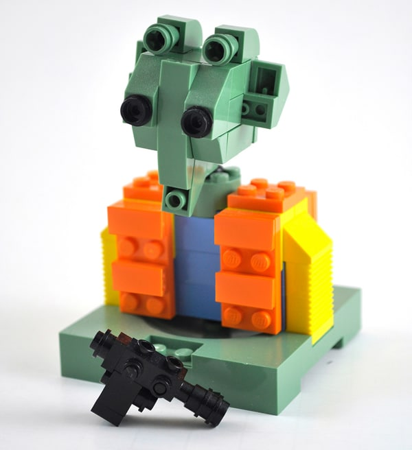 LEGO Star Wars Bounty Hunters : Greedo - Par Omar Ovalle