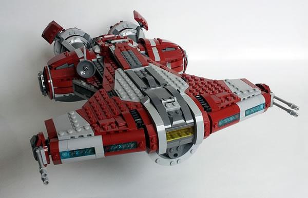 LEGO Jedi Defender-Class Cruiser par khatmorg