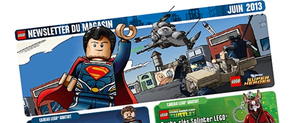 LEGO Store Calendar juin 2013