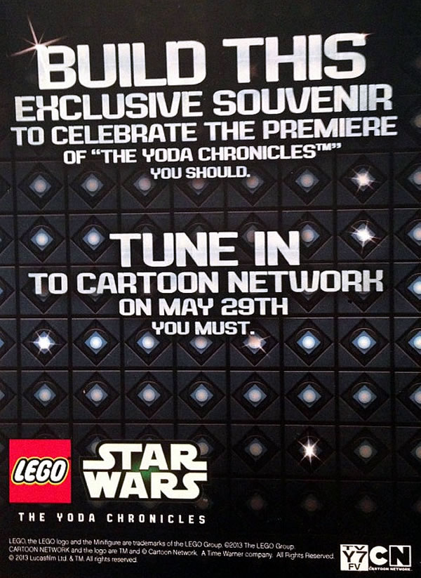 LEGO Star Wars : The Yoda Chronicles promotional set