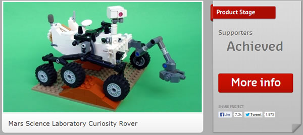 21104 Mars Science Laboratory Curiosity Rover