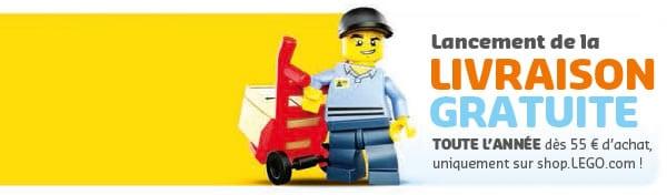 Shop@Home : Livraison gratuite toute l'année à partir de 55 €