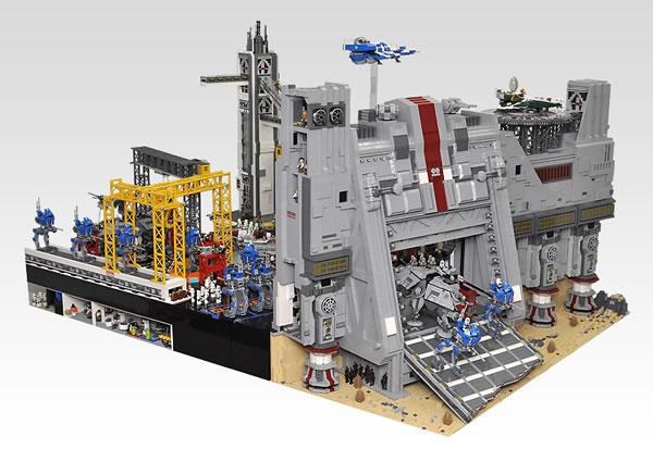 LEGO Star Wars Diorama - Olive Seon