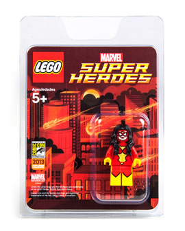 San Diego Comic Con 2013 LEGO Super Heroes Marvel & DC Exclusive Minifigs