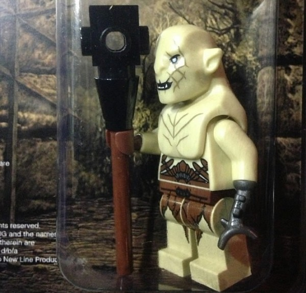 LEGO The Hobbit - The Desolation of Smaug - Azog Exclusive MInifig
