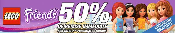 LEGO Friends chez Pixmania - 50% de réduction sur le 2ème produit LEGO Friends acheté