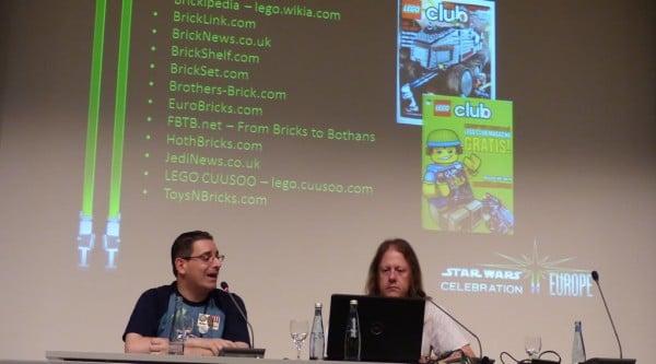 LEGO Star Wars Panel @ Celebration Europe 2013