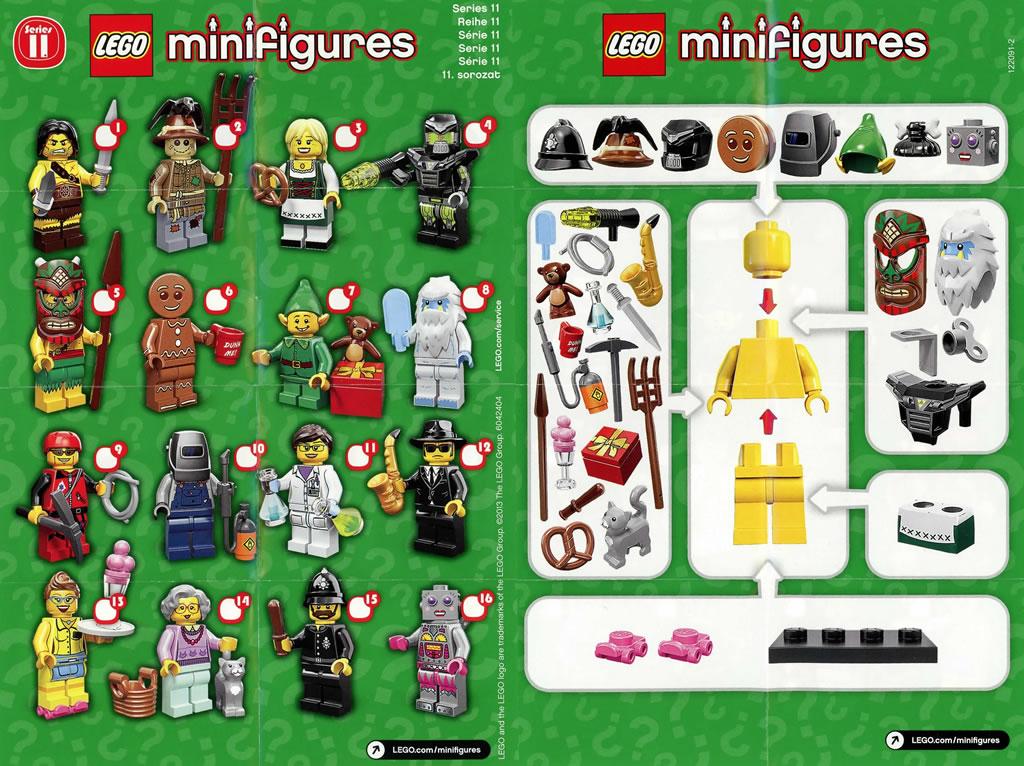 Série 11 LEGO