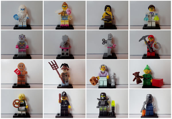 71002 Collectible Minifigures Series 11