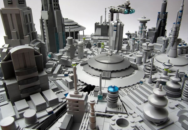 LEGO Star Wars micro-scale Coruscant