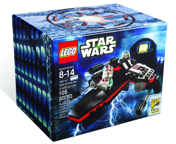 LEGO Star Wars JEK-14 Mini Stealth Starfighter San Diego Comic Con 2013 Exclusive