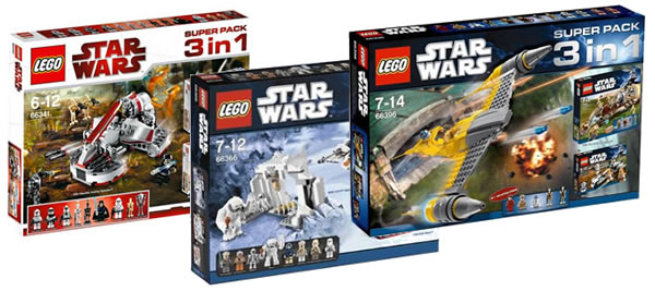 LEGO Star Wars Super Packs 3-in1