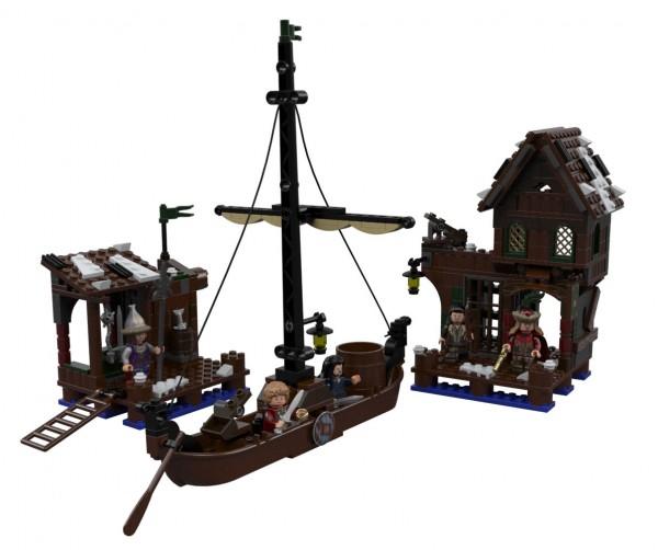 The Hobbit Lake Town Chase