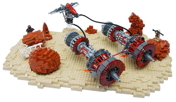KV9T9-B Wasp Podracer par Legopard