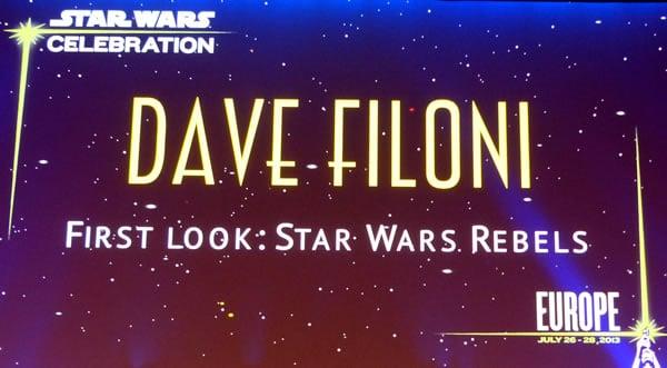 Star Wars Rebels @ Celebration Europe  2013