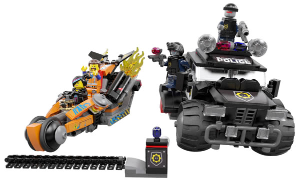 The LEGO Movie 70808 Super Cycle Chase