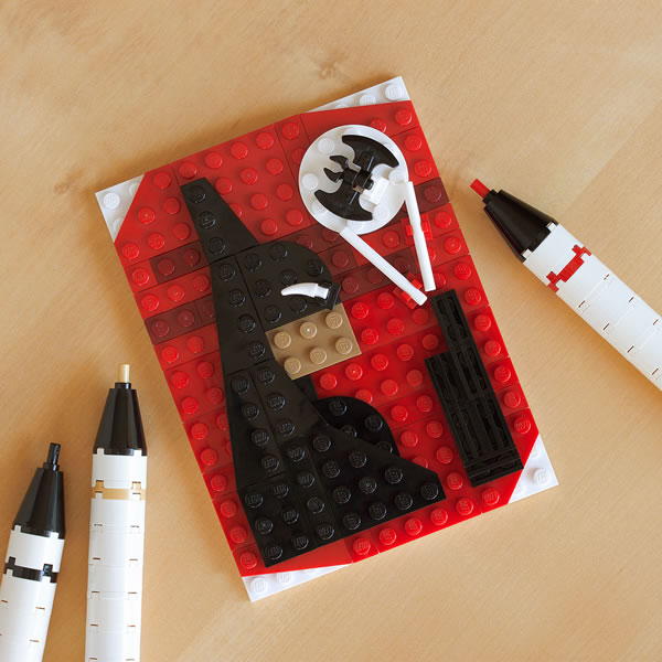 Brick Sketch : Beware the Batman par Chris McVeigh