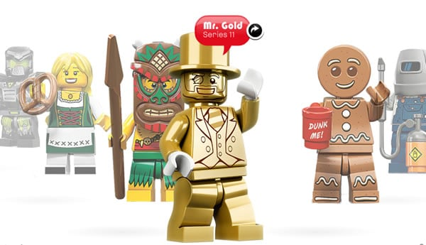 Collectible Minifigures Series - Mr Gold