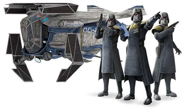 Coruscant Police Gunship