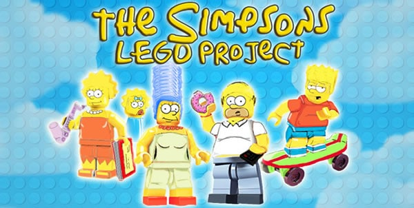 LEGO Cuusoo - The Simpsons