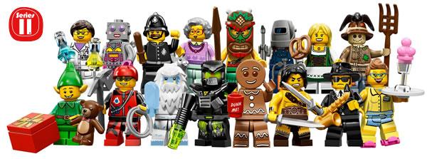 6029152 - LEGO Collectible Minifigures Series 11