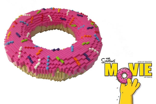 The Simpsons Movie - LEGO Donut
