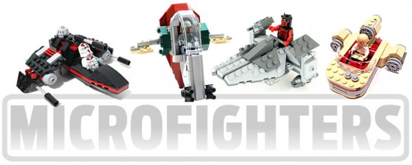 LEGO Star Wars 2014 : MicroFighters