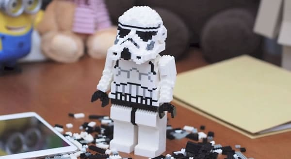 Nanoblock LEGO Stormtrooper