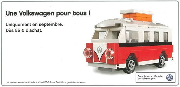 40079 Mini VW T1 Camper Van