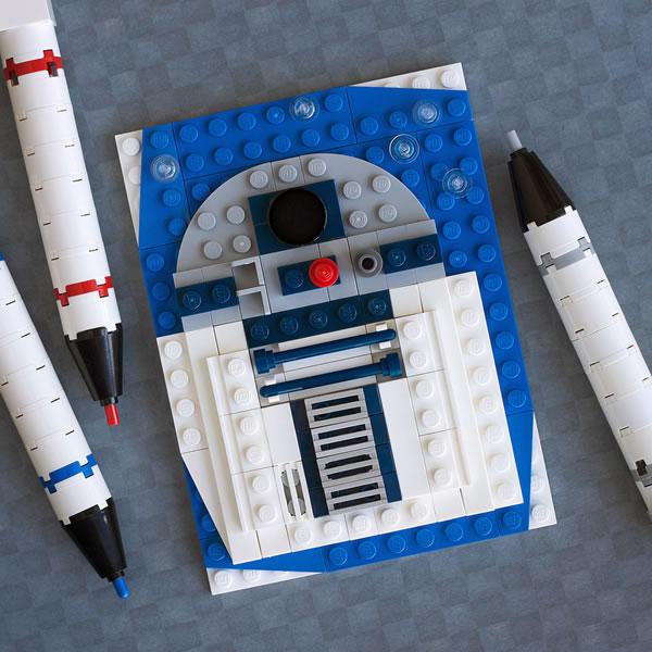 Brick Sketch : R2-D2 par Chris McVeigh