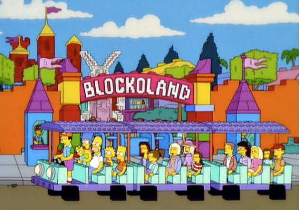 The Simpsons @BLOCKOLAND
