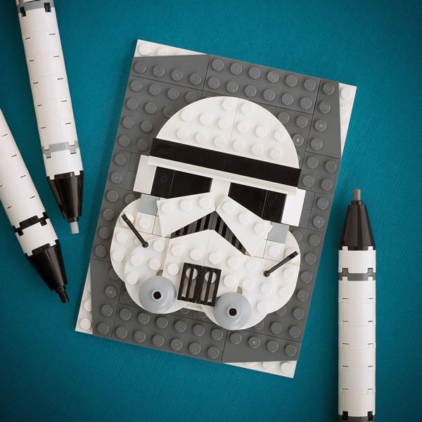Brick Sketch : Stormtrooper par Chris McVeigh