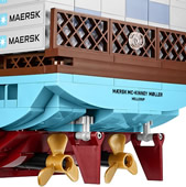 10241 Maersk Line Triple-E Container Ship