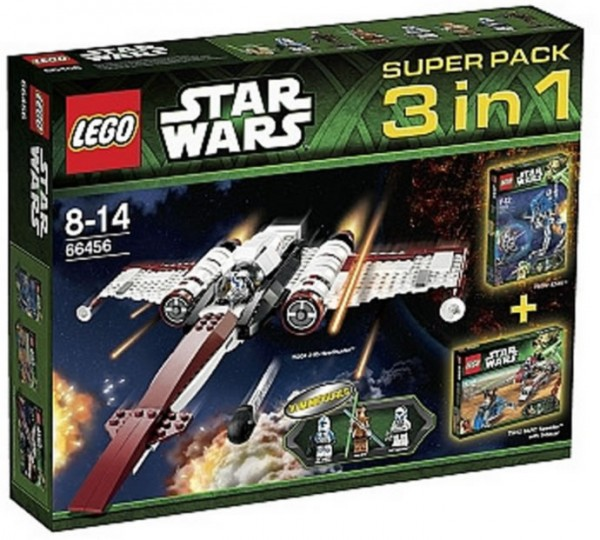 LEGO Star Wars 66456 Super Pack 3-in-1 (75002 + 75004 + 75012)