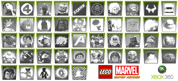 LEGO Marvel Super Heroes XBOX360 Achievements