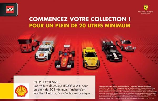 Opération LEGO / Shell / Ferrari