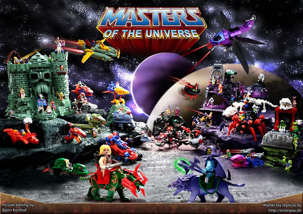 Masters of the Universe par Orion Pax