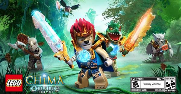 LEGO Legends opf Chima Online Beta