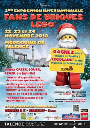 FANS DE BRIQUES LEGO ® 2013