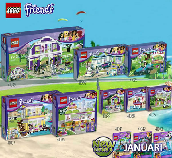 LEGO Friends 2014