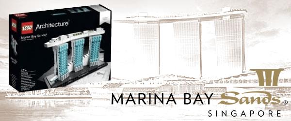 LEGO Architecture : 21021 Marina Bay Sands