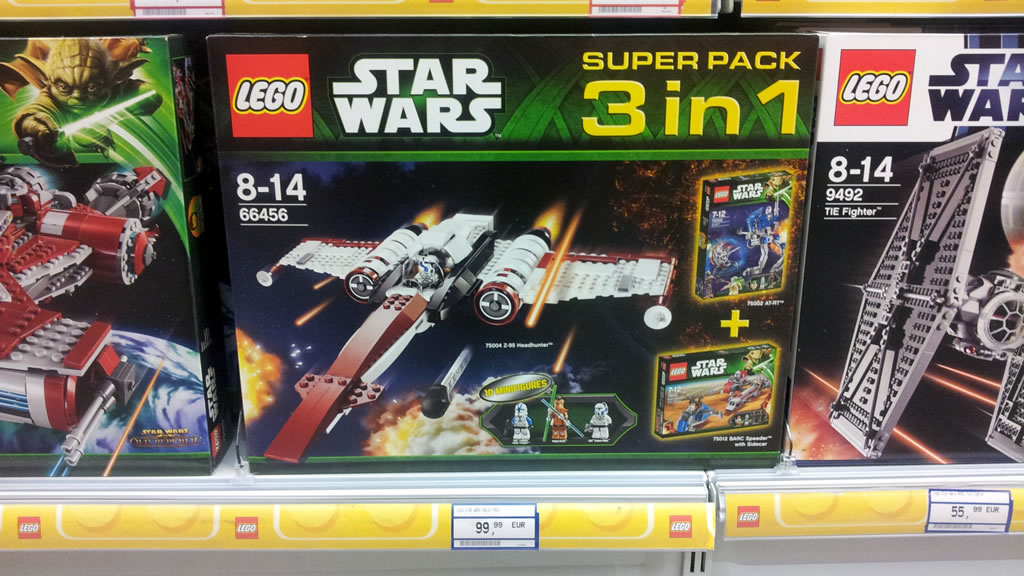 Super Pack 3-in-1 LEGO Star Wars 66456